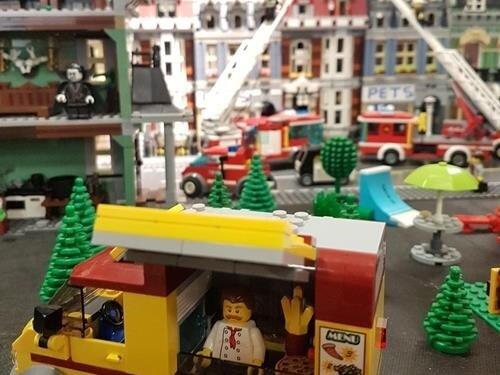 Svět kostiček - putovní výstava ze stavebnice Lego v Kyjově