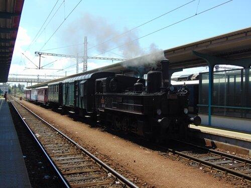 Muzejní parní vlaky Jaroměř - Hradec Králové