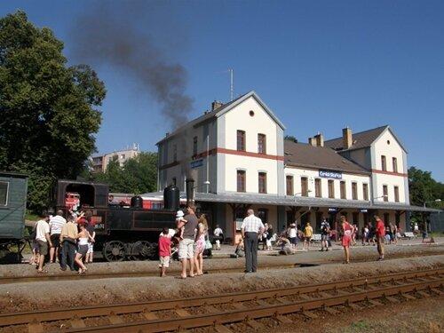 Muzejní parní vlaky Jaroměř - Česká Skalice