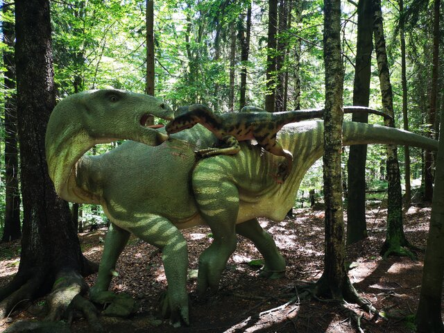 Dinopark ve Sklářské Porubě