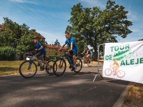 Tour de aleje - letní cyklojízda na podporu ochrany alejí