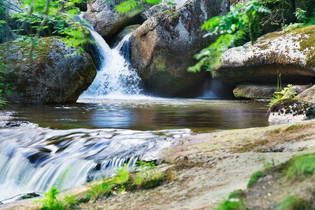 Pěší výlet na vodopády Černé Desné