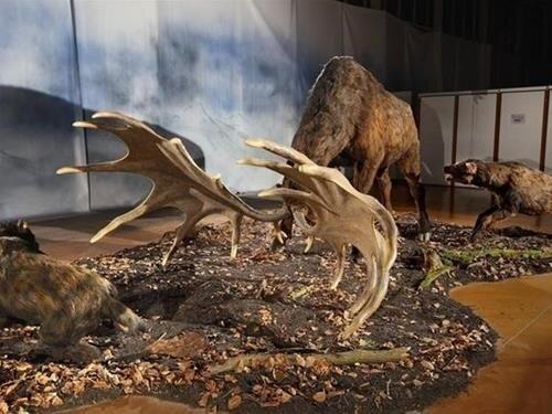 Výstava Giganti doby ledové na Lipně
