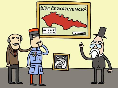 Opráski s českí historje ve Ville Pellé