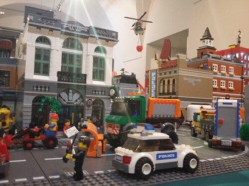 Expozičně - herní výstava kostiček Lego ve Světlé nad Sázavou