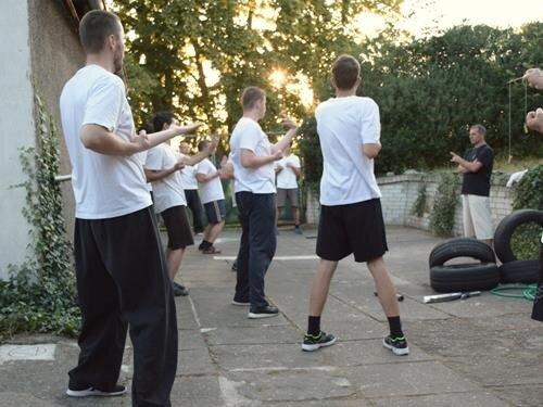 Letní tréninky Kung Fu