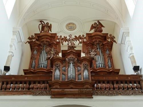 Varhanní koncert Jaroslava Tůmy v klášterním kostele ve Zlaté Koruně