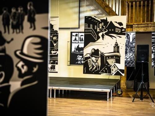 Výstava Kafka ve frýdlantském pivovaru