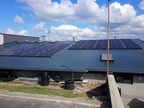 Dny otevřených dveří slunečních elektráren Autokomplex Menčík