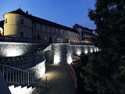 Večerní prohlídky hradu a zámku Zbiroh