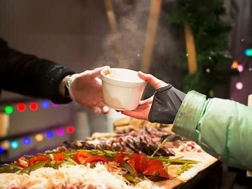 Vánoční street food market Řevnice