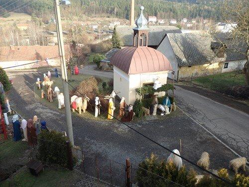 Nejpočetnější betlém ze sena v životní velikosti v Čenkově - přeběžný termín
