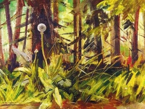 Julie Winterová Mezerová: Lesem, polem