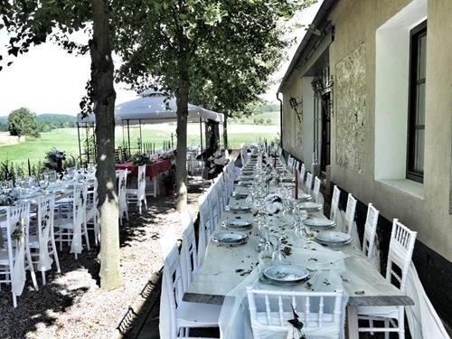 Svatba na statku v Rezidenci Chmelná
