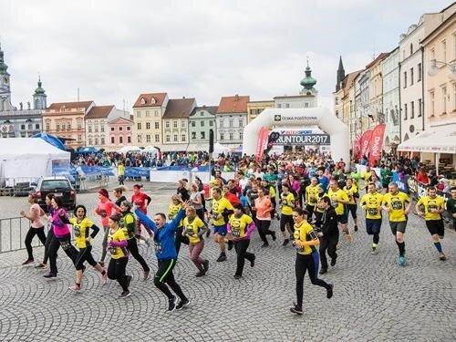 Virtuální RunTour České Budějovice