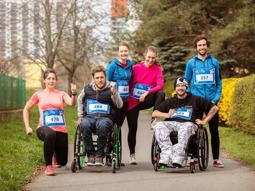 Virtuální běh pro Paraple