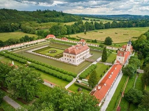 Zpřístupnění zámecké zahrady Kratochvíle