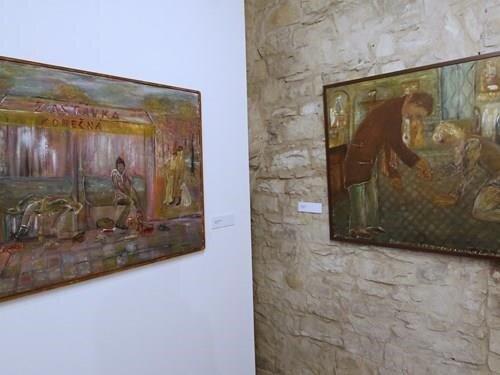 Rosťa Osička – boxer, malíř, básník