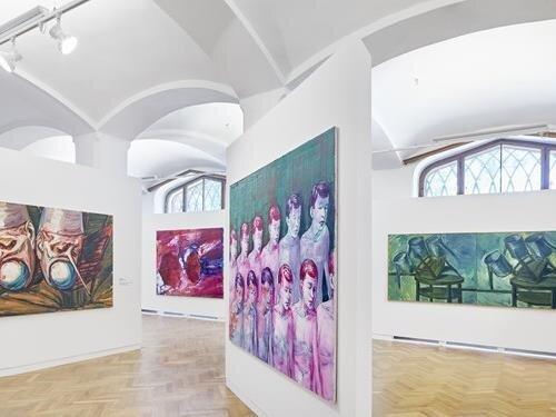 Obrazy Lubomíra Typlta v Alšově jihočeské galerii