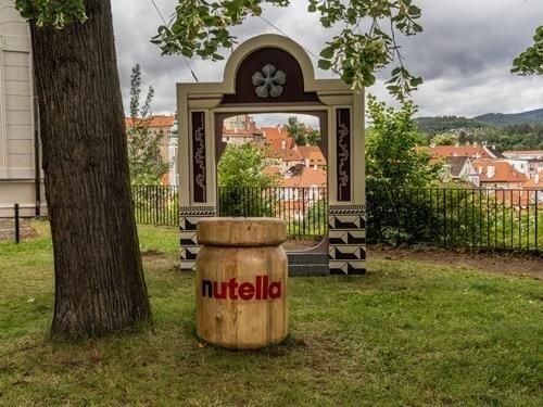 S Nutelláskou k Českému Krumlovu