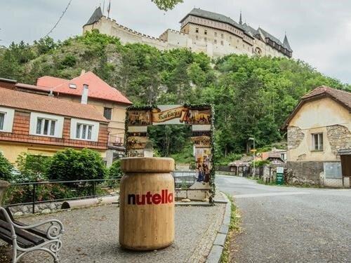 S Nutelláskou ke Karlštejnu