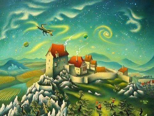 Výstava obrazů Eduarda Bárty