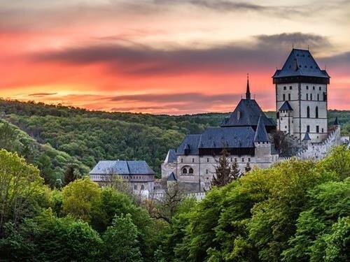 Mše ke cti svaté Ludmily na hradě Karlštejn