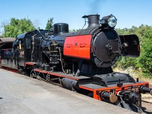 Den železnice v Lužné u Rakovníka – jízdy parním vlakem do Kolešovic a Kralovic