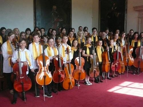 Koncert Jihočeského violoncellového orchestru: Jindřichův Hradec