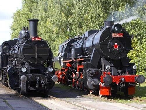 Poslední parní víkend v železničním muzeu v Lužné