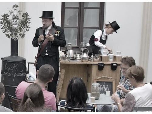 Historická kafírna – pražení a ochutnávky kávy na hradě Šternberk