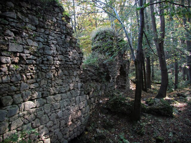 Zřícenina hradu Obřany