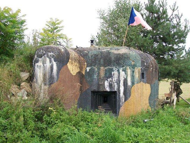 Válečný bunkr Jedovary