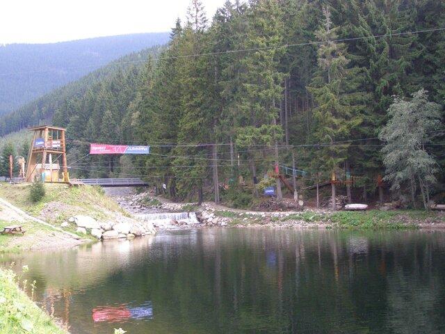 Pec pod Sněžkou - lanové centrum - Relaxpark