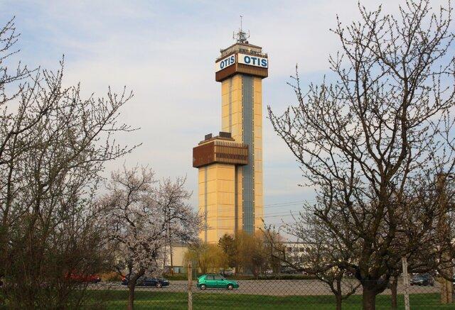 Věž Otis v Břeclavi