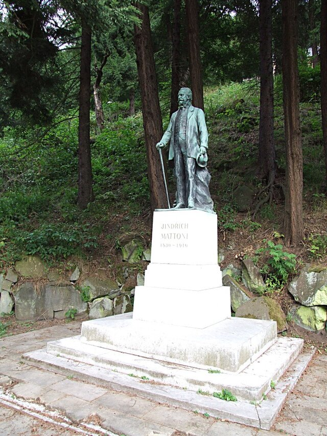 Mattoniho socha v Kyselce