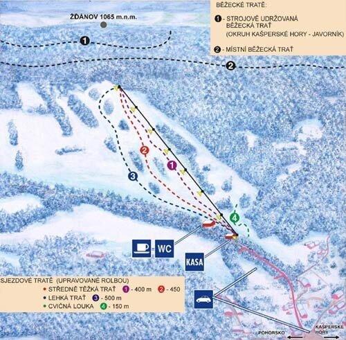 Ski areál Nezdice