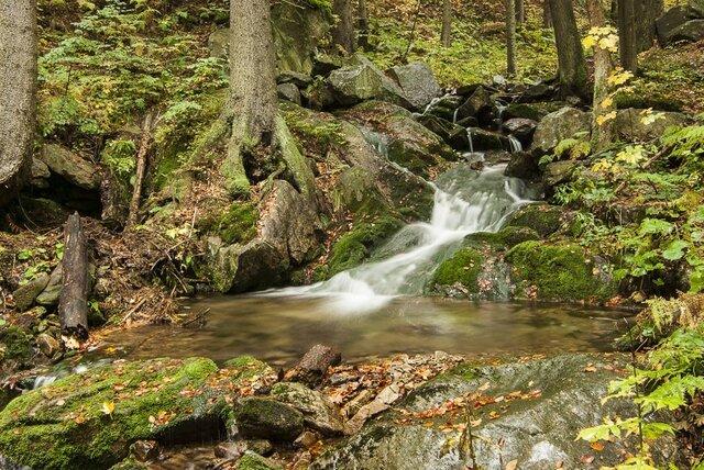 Vodopády Malé Moravy