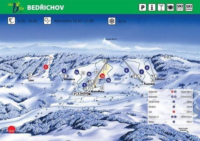Ski areál Bedřichov