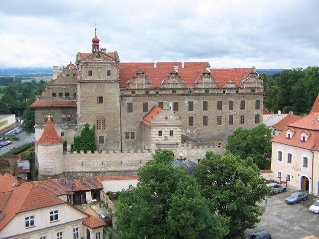 hrad Horšovský Týn