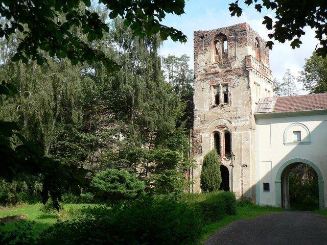 Zřícenina kláštera Paulánů Světce