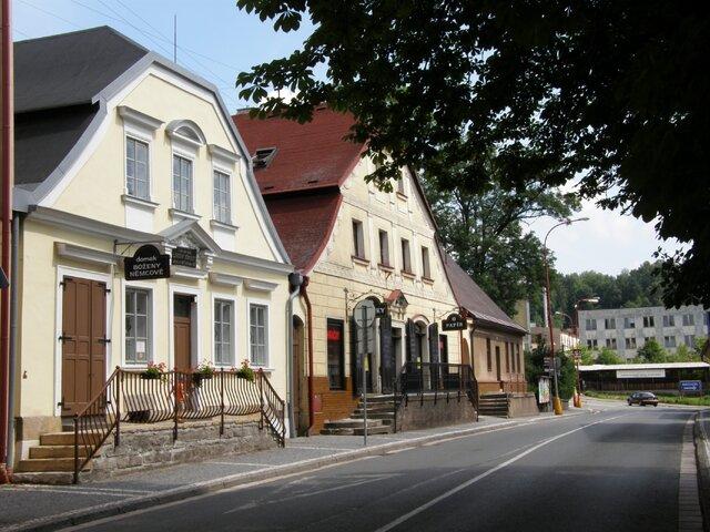 Domek Boženy Němcové v Červeném Kostelci