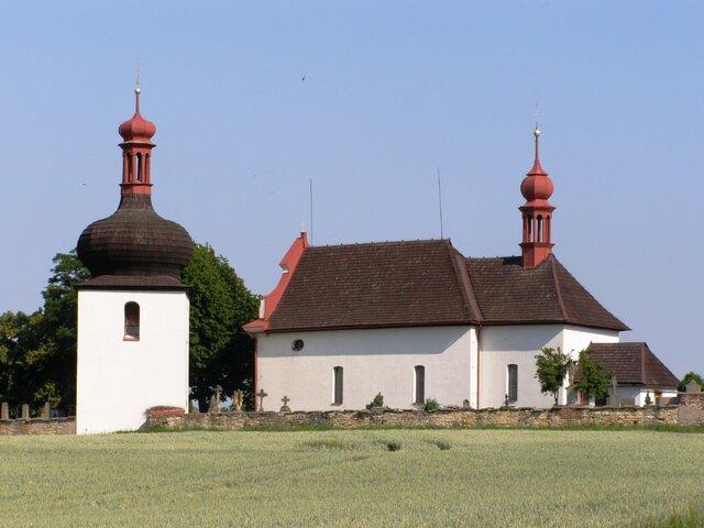 Kostel sv. Ducha v Dobrušce