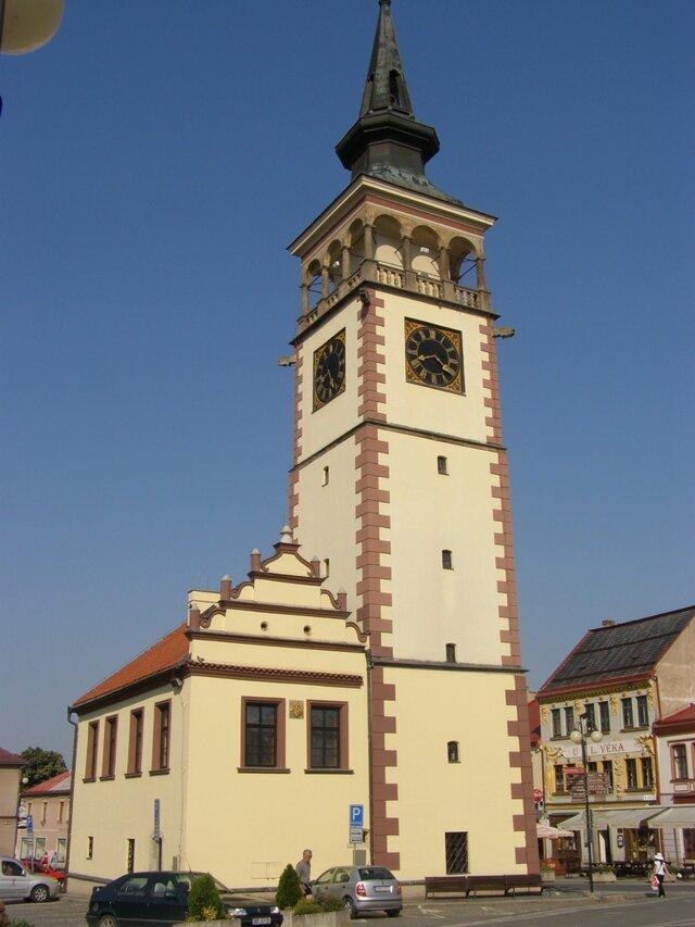 Radnice v Dobrušce