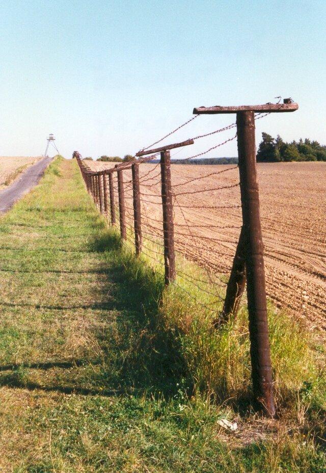 Čížov - Železná opona