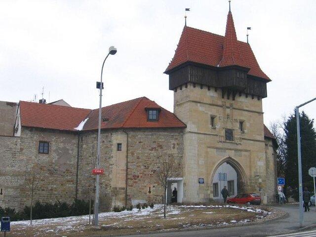 Louny - hradby