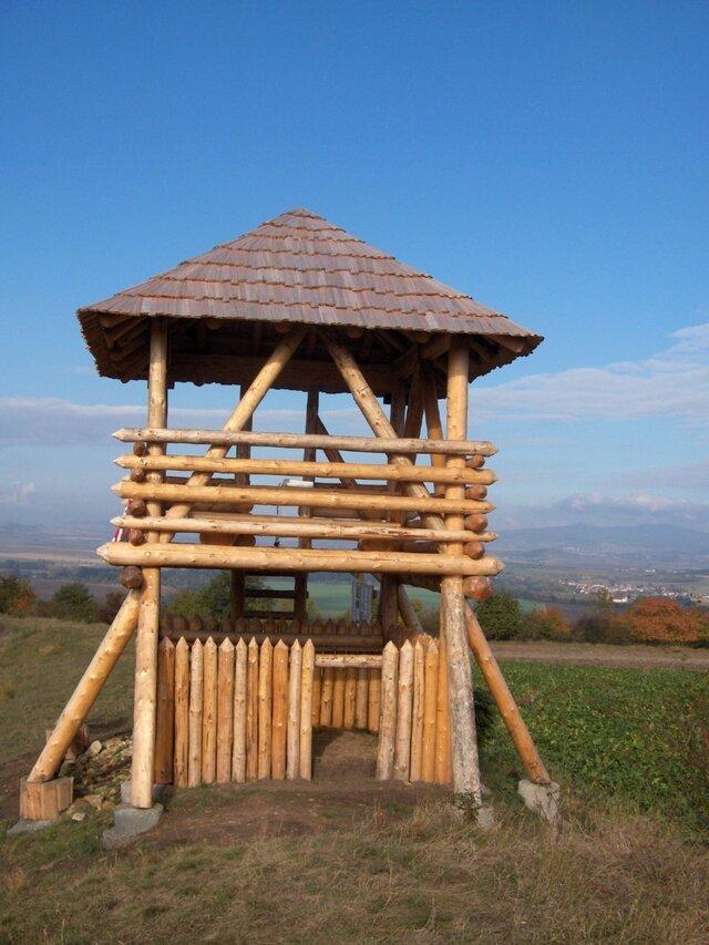 Rozhledna Keltské Valy Stradonice