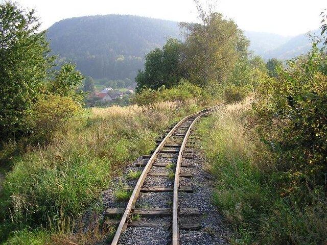 Mladějov n. M. - úzkorozchodná železnice a muzeum