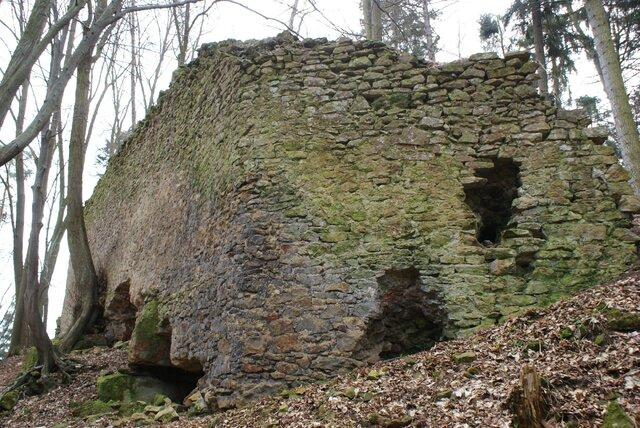 Zřícenina hradu Radkov