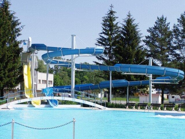 Ústí nad Orlicí - aquapark, koupaliště